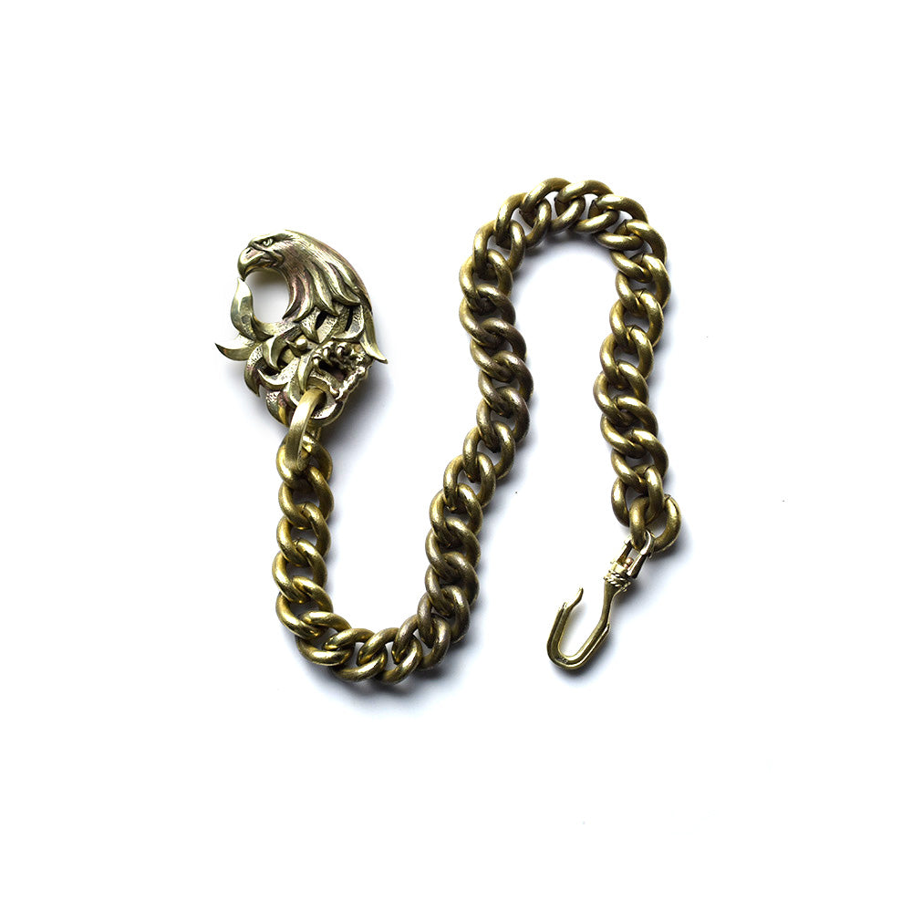 May club -【May club】NATIVE AMERICAN WALLET CHAIN - BRASS Type2