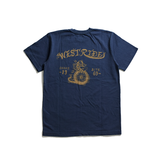 "May club -【WESTRIDE】""SNAKE BITE"" TEE - NAVY"