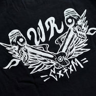 "May club -【WESTRIDE】""PISTON WINGS"" TEE - BLACK"