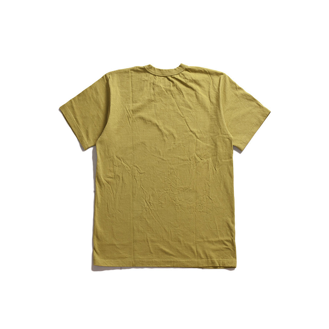 "May club -【WESTRIDE】""WALL OF DEATH"" TEE - MUSTARD"
