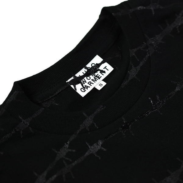 "May club -【B.W.G JAPAN】""WIRE"" TEE - BLACK / BLACK"