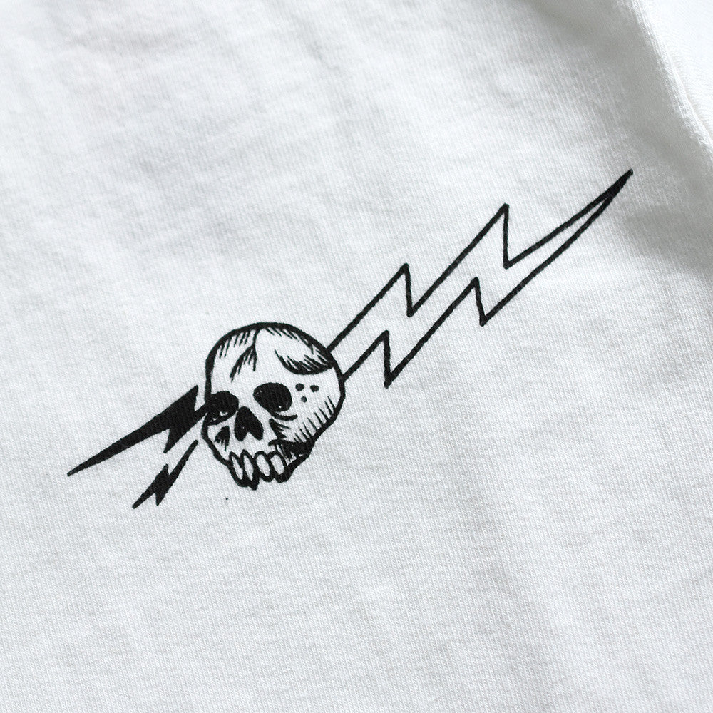 "May club -【WESTRIDE】""PISTON WINGS"" TEE - WHITE"