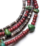 May club -【SunKu】Antique Beads Necklace with Turquoise