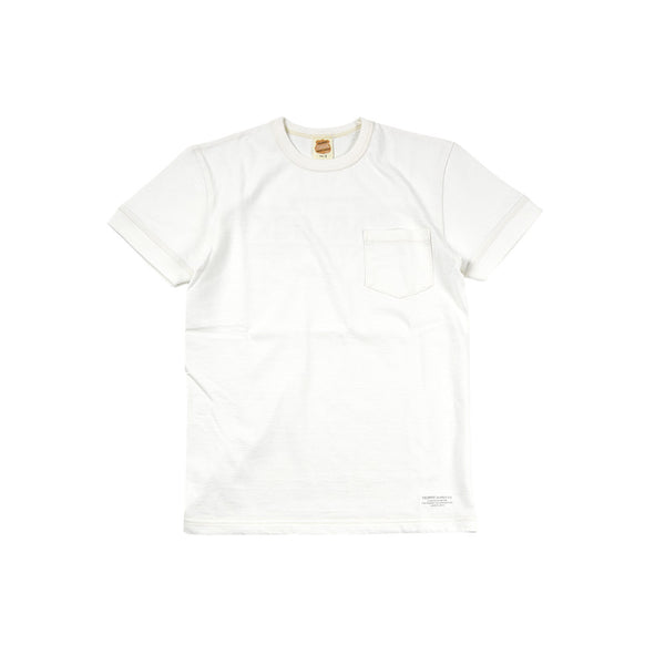 """WARLOCK"" POCKET TEE - WHITE"