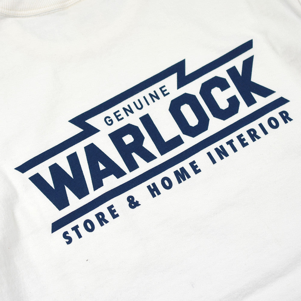 "May club -【Trophy Clothing】""WARLOCK"" POCKET TEE - WHITE"