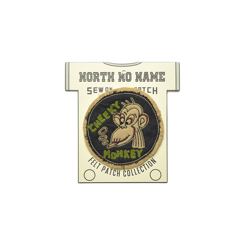 May club -【North No Name】PATCH - CHEEKY MONKEY