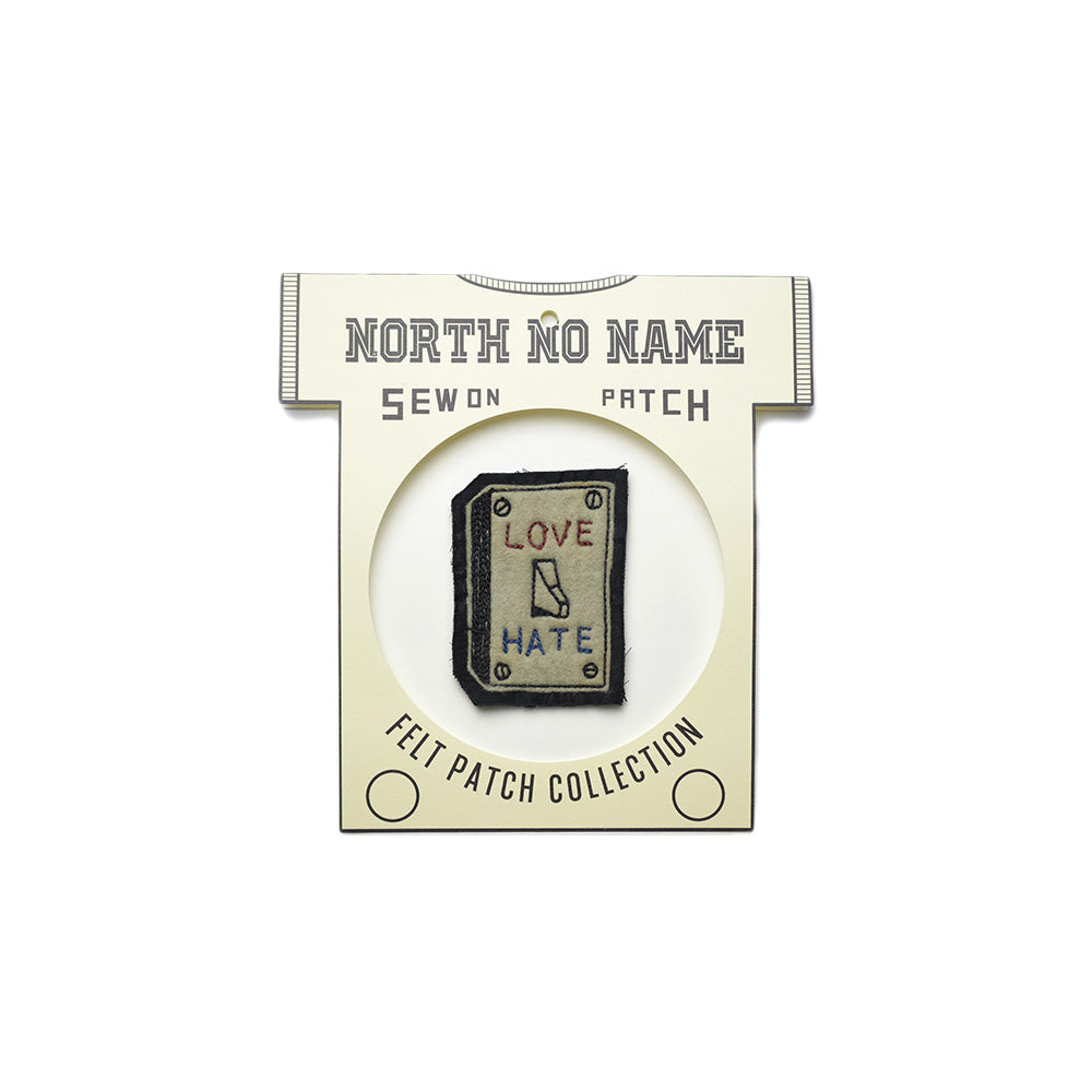 May club -【North No Name】PATCH - LOVE / HATE