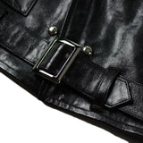 May club -【JACKSUN'S】ATLAS CYCLE  LEATHER JACKET - HORSEHIDE
