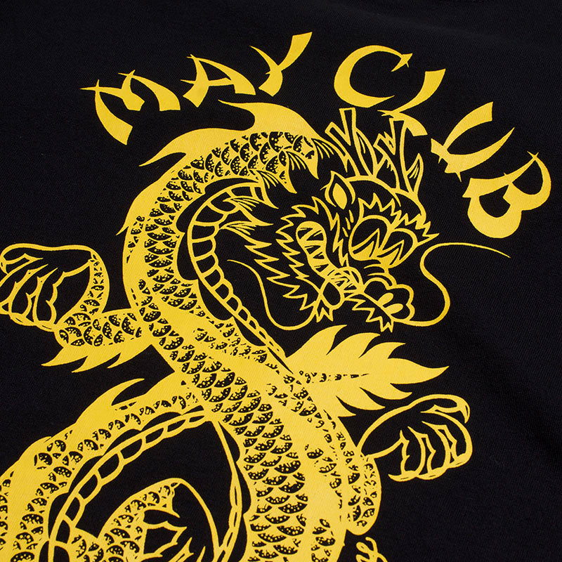 May club -【May club】MAY CLUB X KNUCKLE 8TH ANNIVERSARY TEE - BLACK/YELLOW