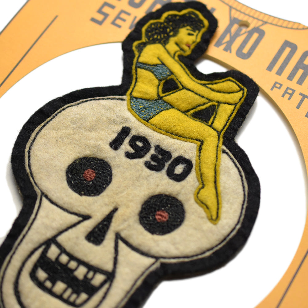May club -【North No Name】PATCH - 1930 SKULL