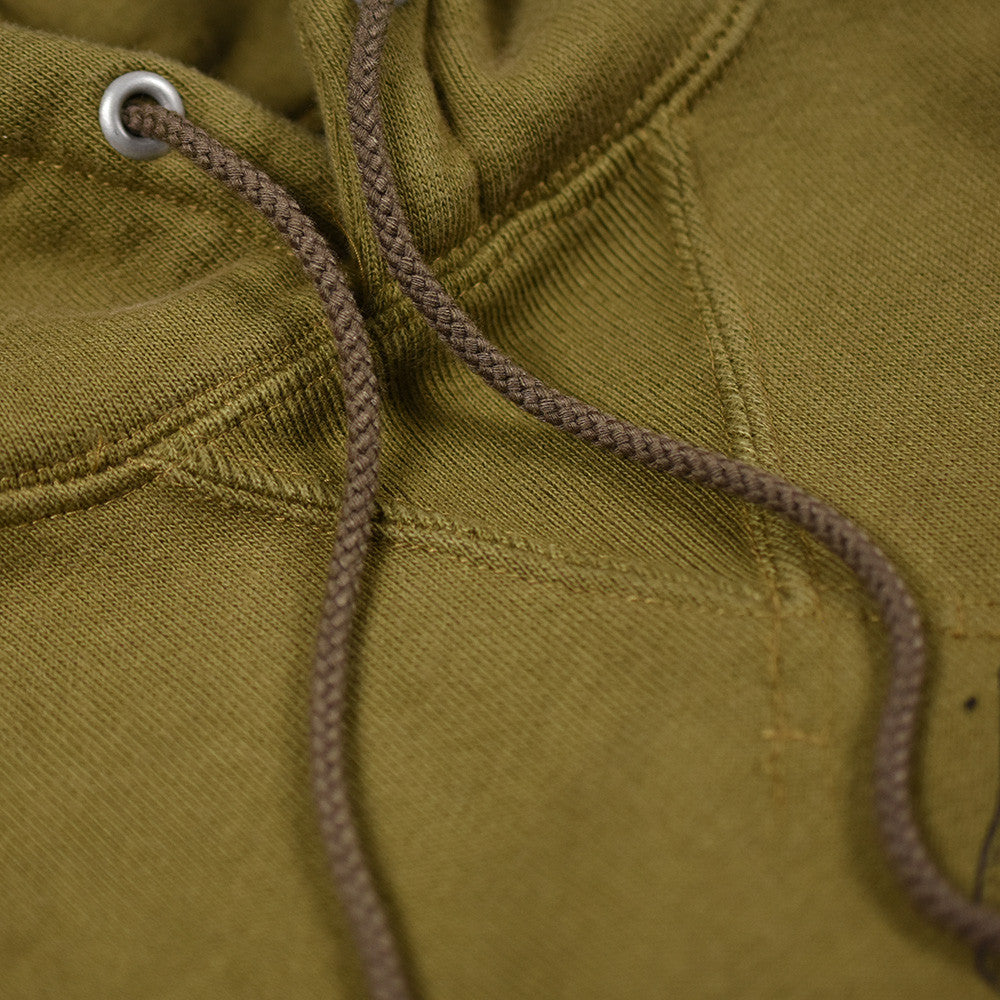May club -【WESTRIDE】HEAVY WEIGHT FRONT V HOODIE - OLIVE