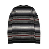 May club -【WESTRIDE】CLASSIC RIB RUG SWEATER - MIX RED