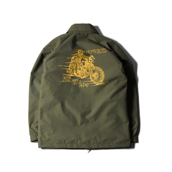 May club -【May club】MAY CLUB x WEST RIDE x C.T.M 三方聯名 CYCLE WINDBREAKER - OLIVE