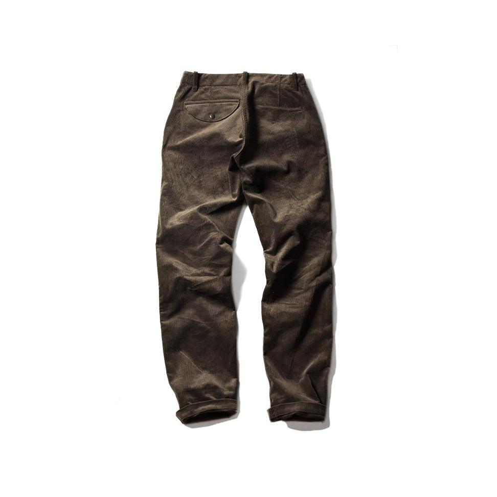 THICK RIDE PANTS - CORDS BRN