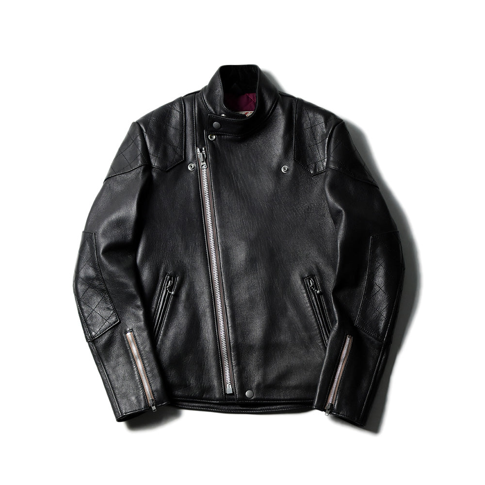 May club -【Addict Clothes】AD-04 Sheepskin Resistance Jacket - Black(茶芯)