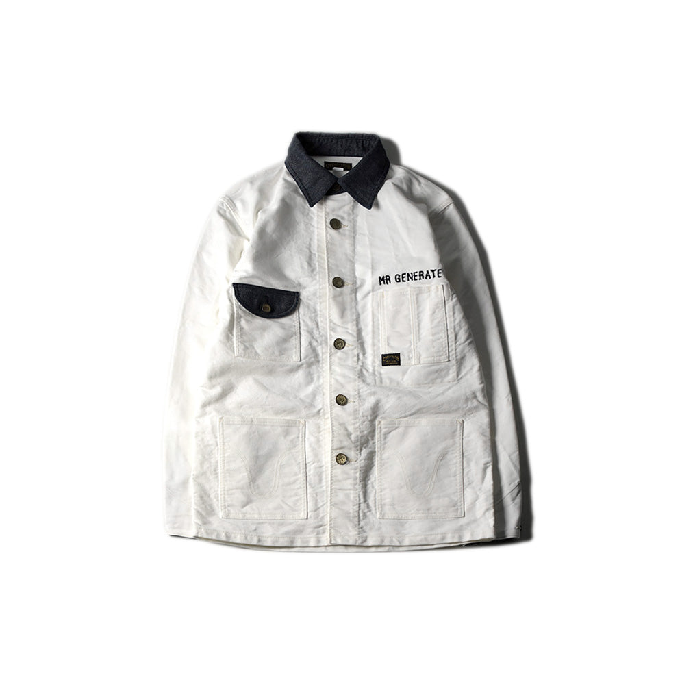 May club -【WESTRIDE】MR GENERATE JACKET - OFF WHITE