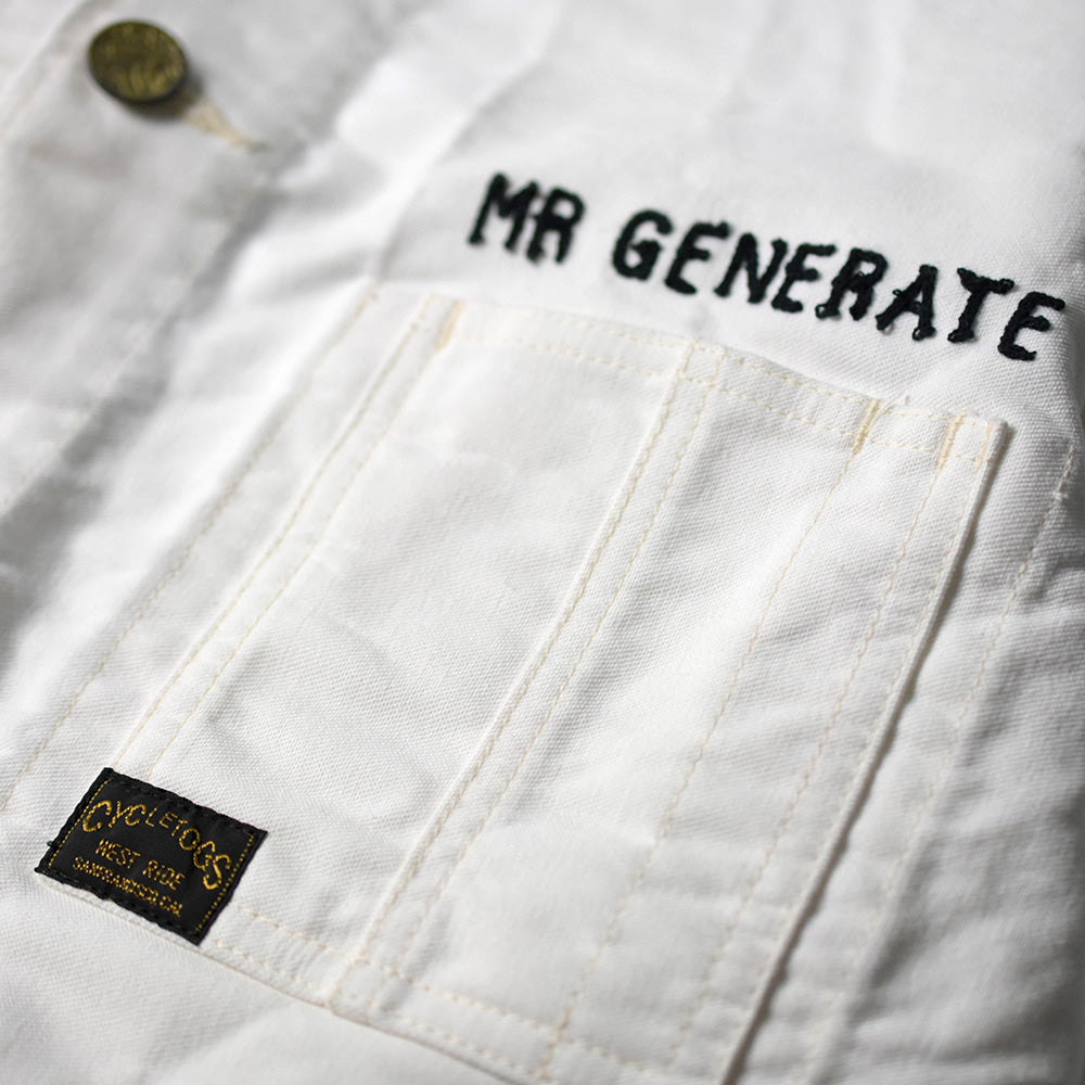 MR GENERATE JACKET - OFF WHITE
