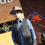 HARVEST TWEED VEST