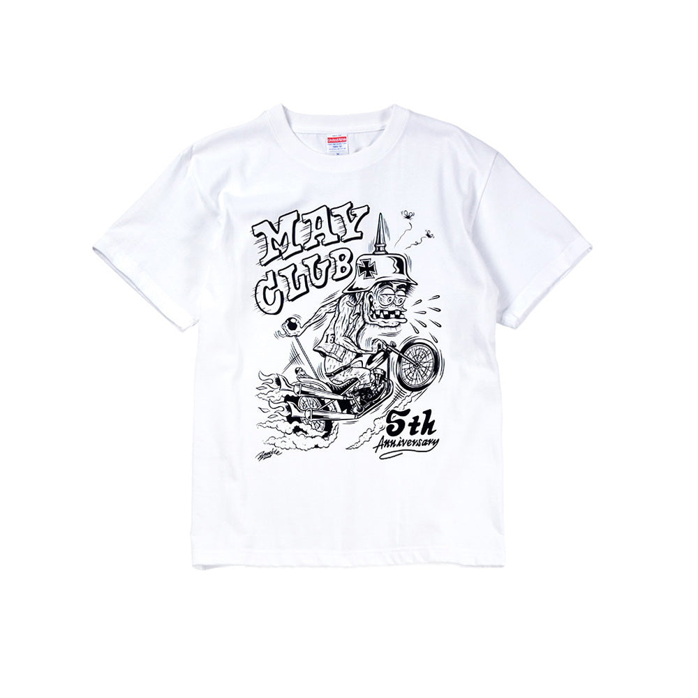 May club -【May club】MAY CLUB x KNUCKLE 5th ANNIVERSARY TEE