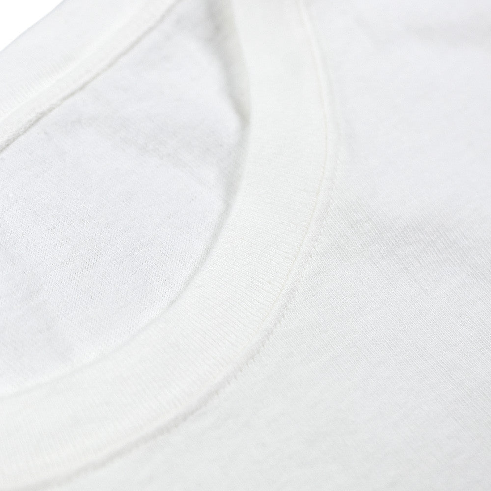 May club -【Addict Clothes】AD-CS-01 SLANTING POCKET T-SHIRT - USED WHITE