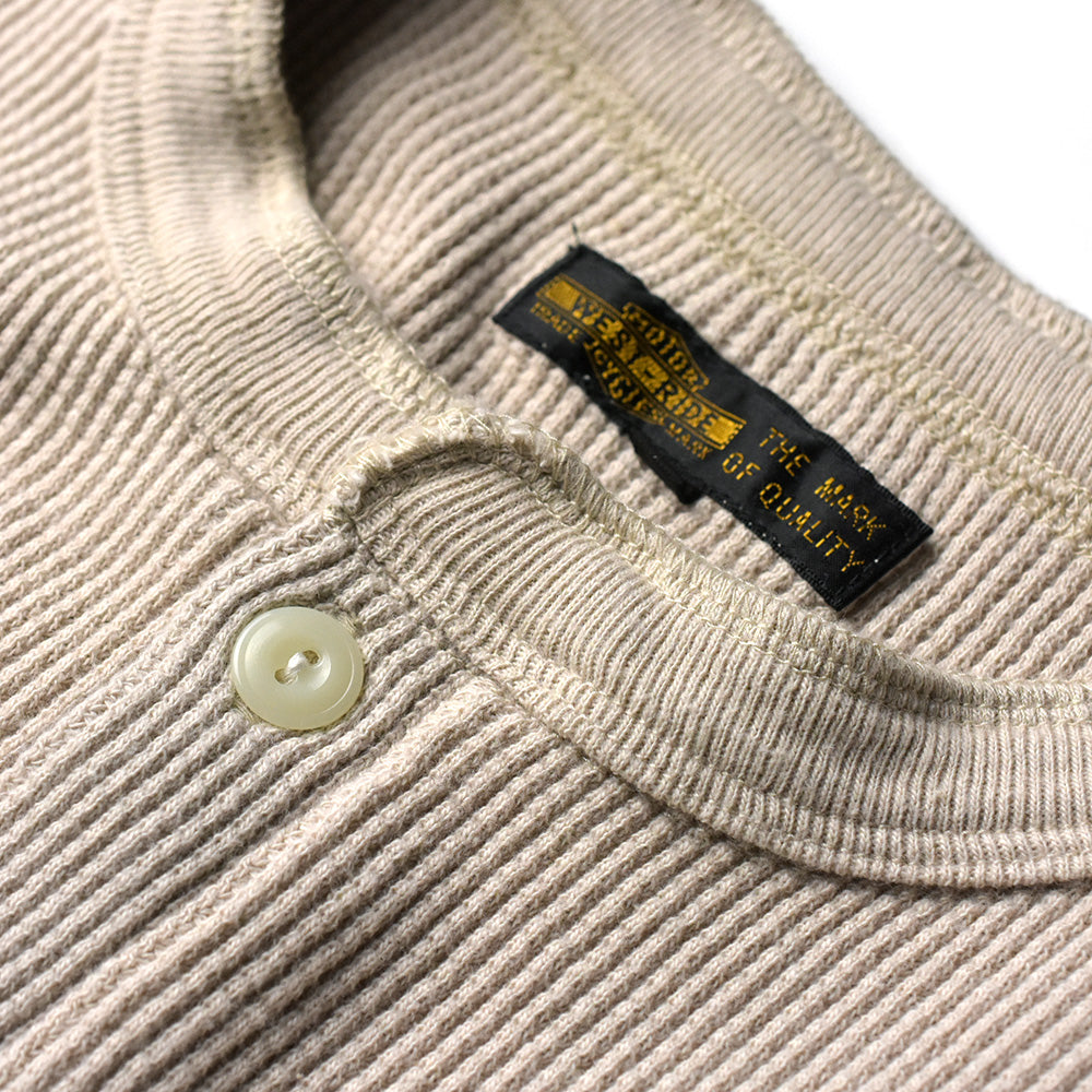 May club -【WESTRIDE】THERMAL HENLEY - ECR