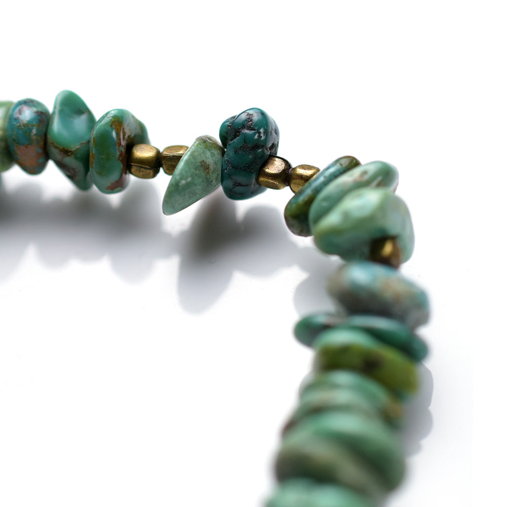 May club -【SunKu】NATURAL STONE TURQUOISE BEADS ANKLET