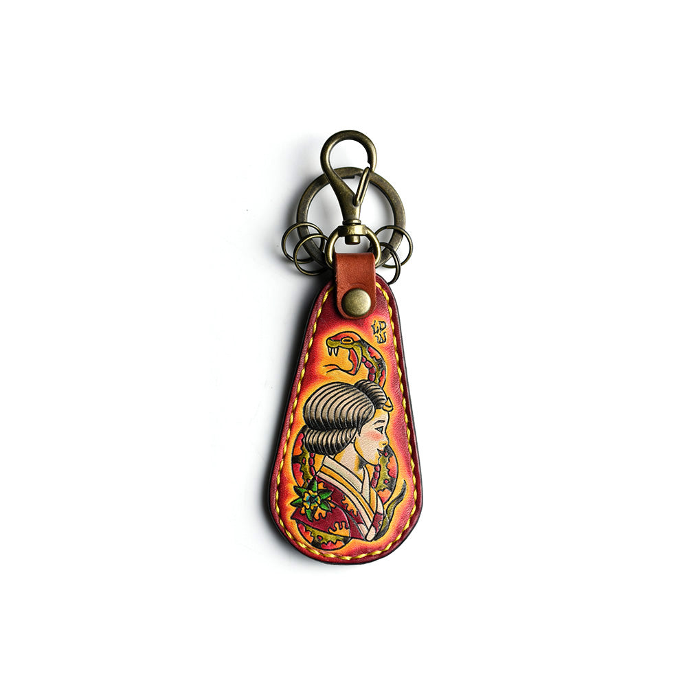 May club -【GDW Studio】SHOEHORN KEYCHAIN - GEISHA