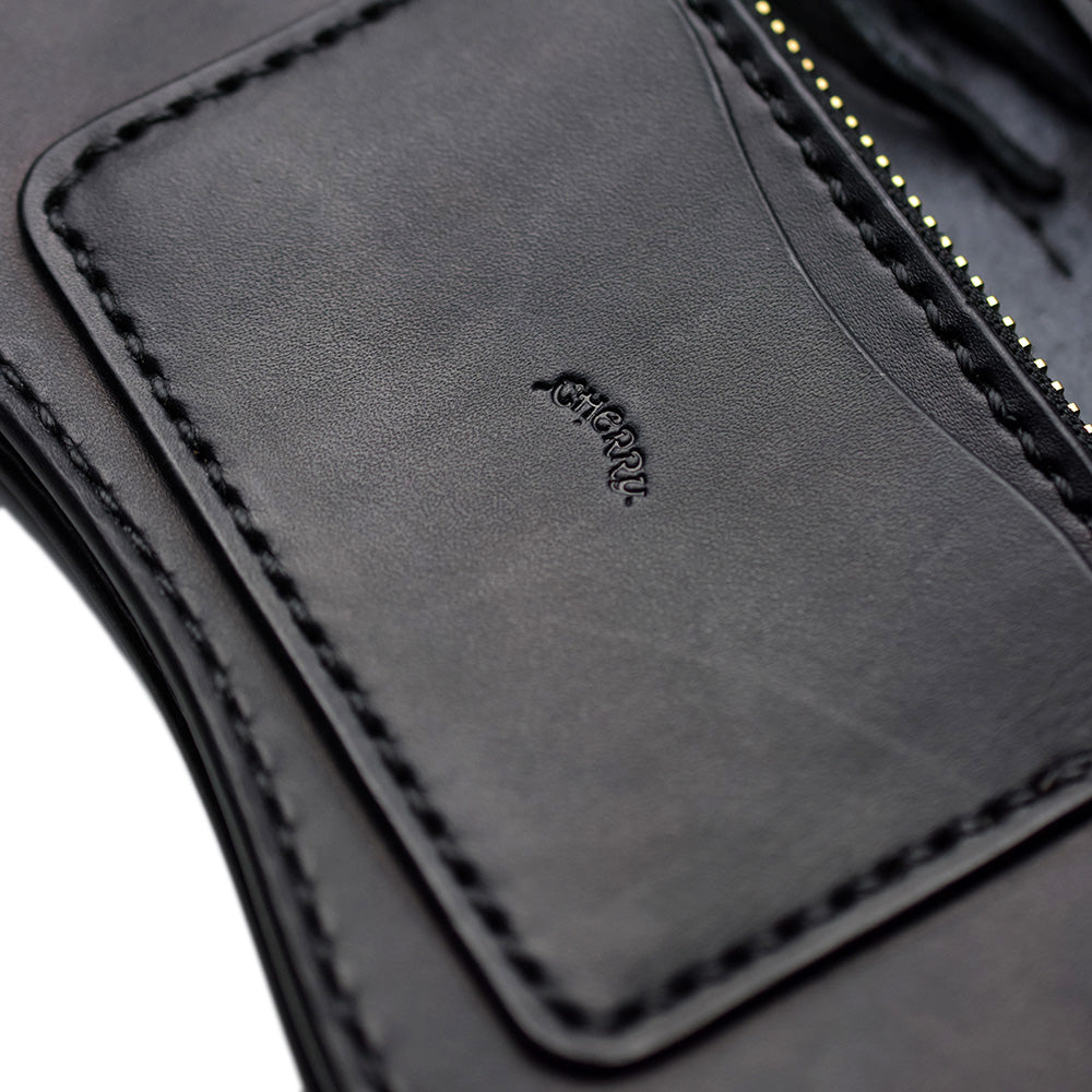 CUSTOM 13 LONG WALLET - BLACK