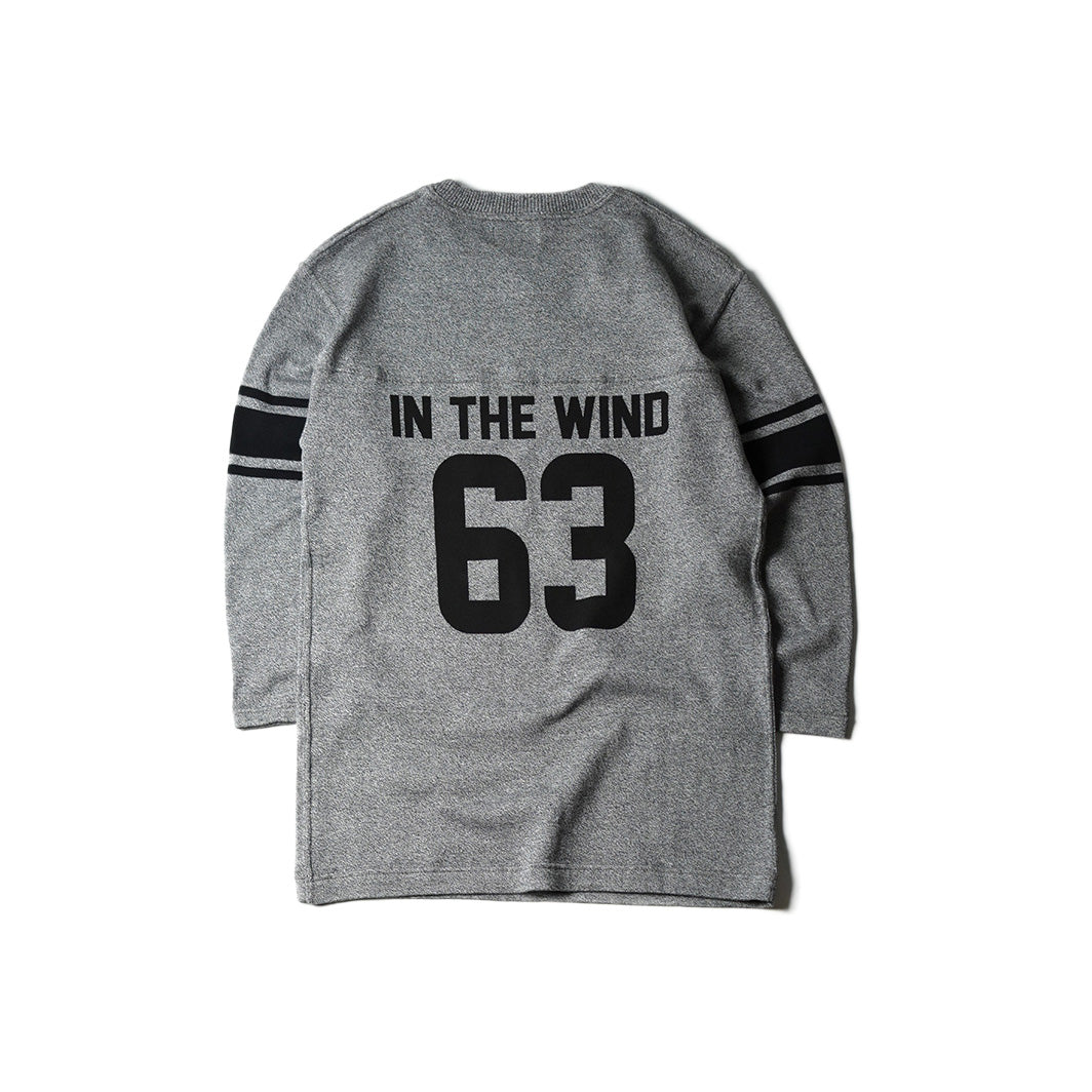 May club -【WESTRIDE】63 FOOTBALL TEE - H.GRY
