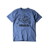 "May club -【WESTRIDE】""CHARLIE"" TEE - W.BLUE"