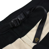 May club -【WESTRIDE】BORDER SHORTS - BLK / CRM