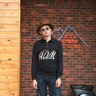 May club -【Addict Clothes】ACV-KN04 SPORTS COLLAR SUMMER KNIT