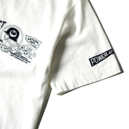 "May club -【WESTRIDE】""CHOPPER SAVED MY LIFE"" TEE - WHITE"