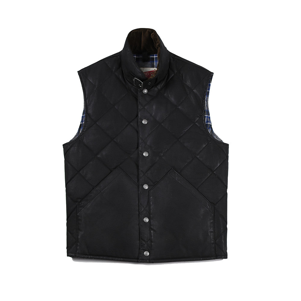 May club -【Addict Clothes】AD-D-04 OILED QUILTED DOWN VEST