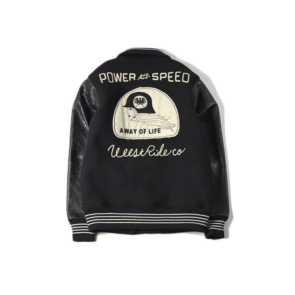May club -【WESTRIDE】POWER AND SPEED JACKET