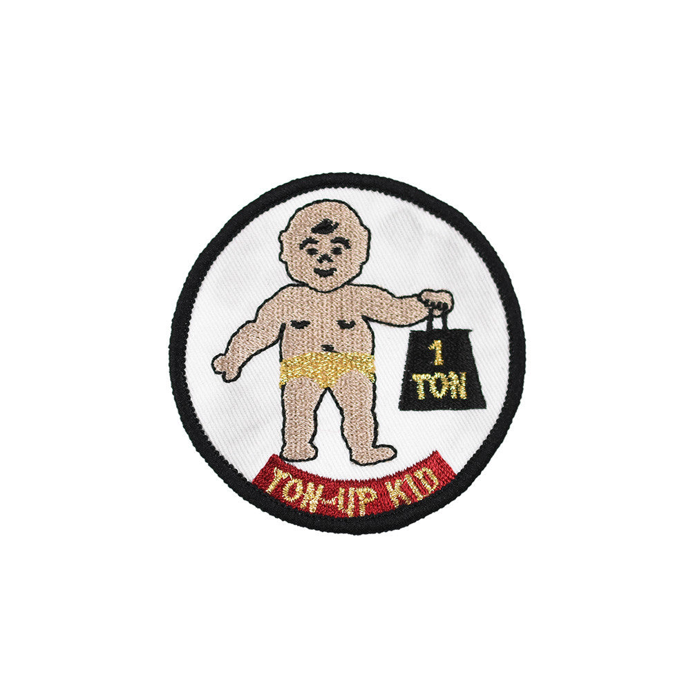 May club -【Addict Clothes】EMBROIDERED CLOTH PATCH