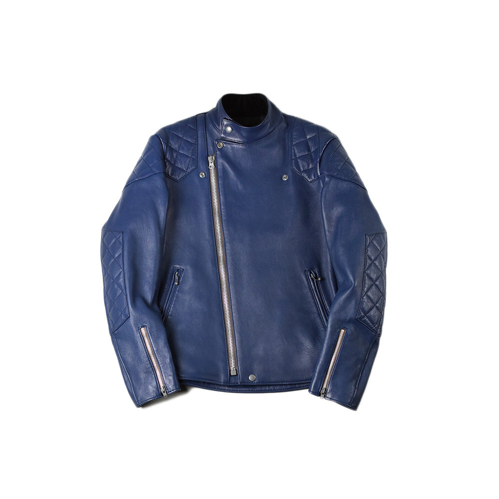 May club -【Addict Clothes】AD-04 Sheepskin Resistance Jacket - Vintage Blue