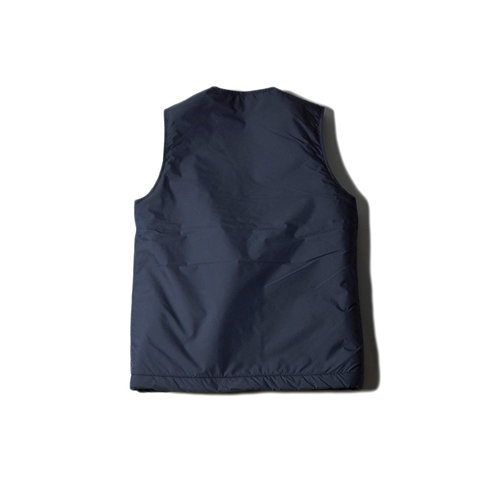 May club -【WESTRIDE】REVERSIBLE PILE VEST - NAVY / NAVY