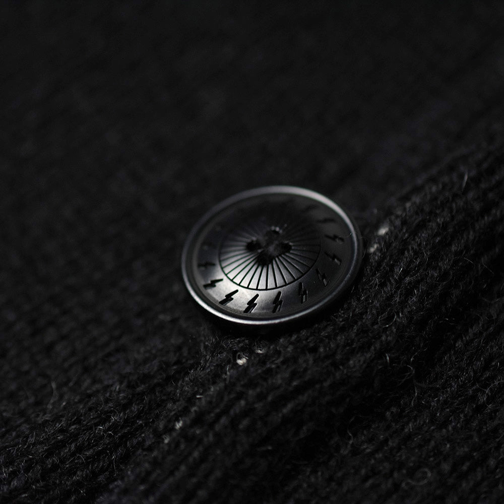 May club -【WESTRIDE】CHIMAYO KNIT VEST - BLACK