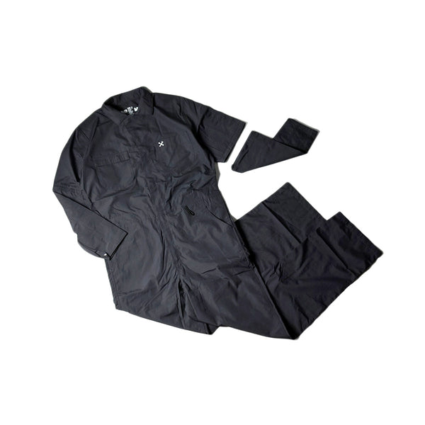 LIGHT WEIGHT COVERALL - GREY