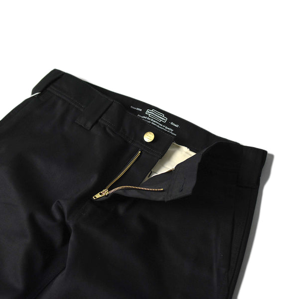 SLIM WORK PANTS - BLACK