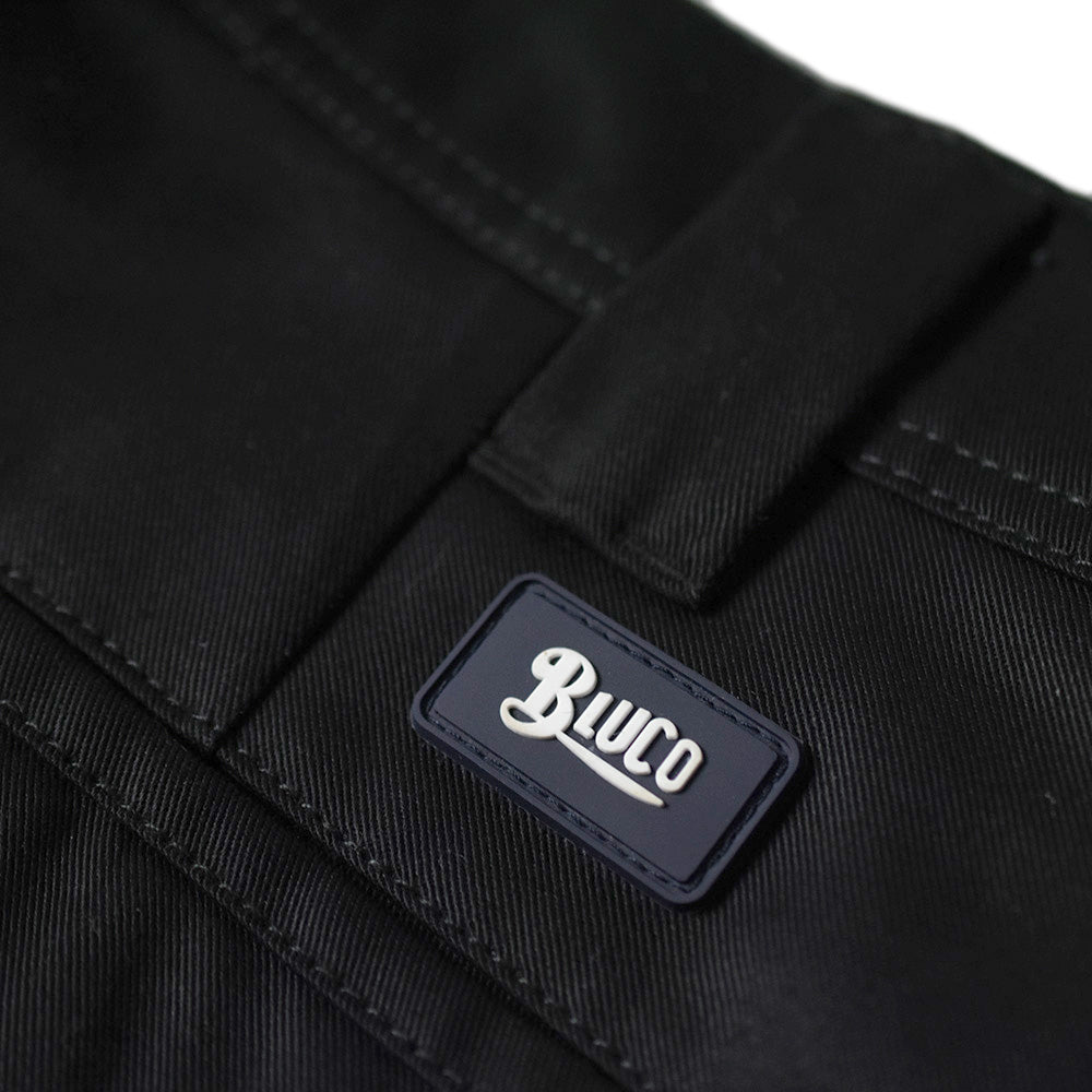 May club -【BLUCO】SLIM WORK PANTS - BLACK