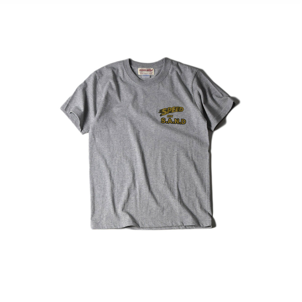 May club -【JACKSUN'S】SPEED ON S.A.N.D TEE - GREY