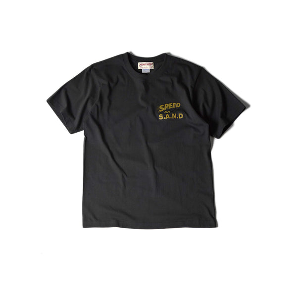 SPEED ON S.A.N.D TEE - WASHED BLACK