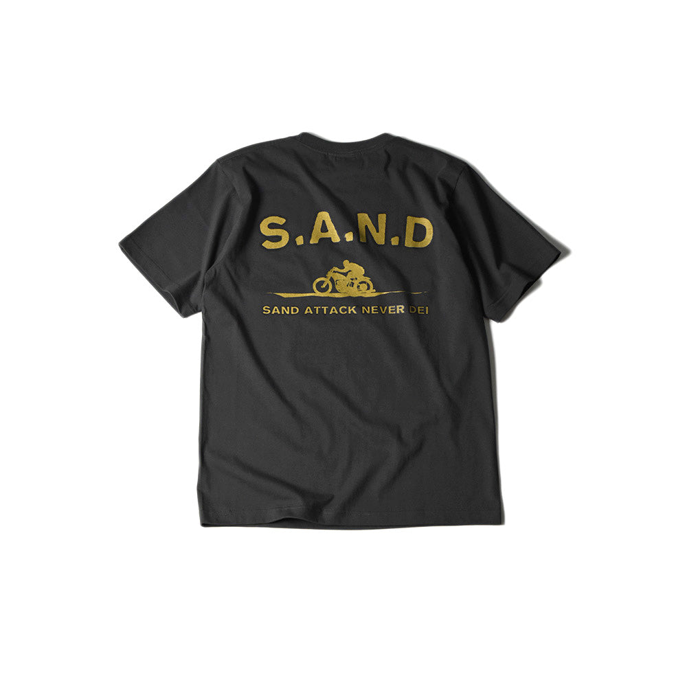 May club -【JACKSUN'S】SPEED ON S.A.N.D TEE - WASHED BLACK