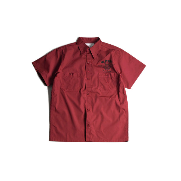 MAY CLUB x WEST RIDE x PSYCHO 7TH ANNIVERSARY SHIRTS - RED