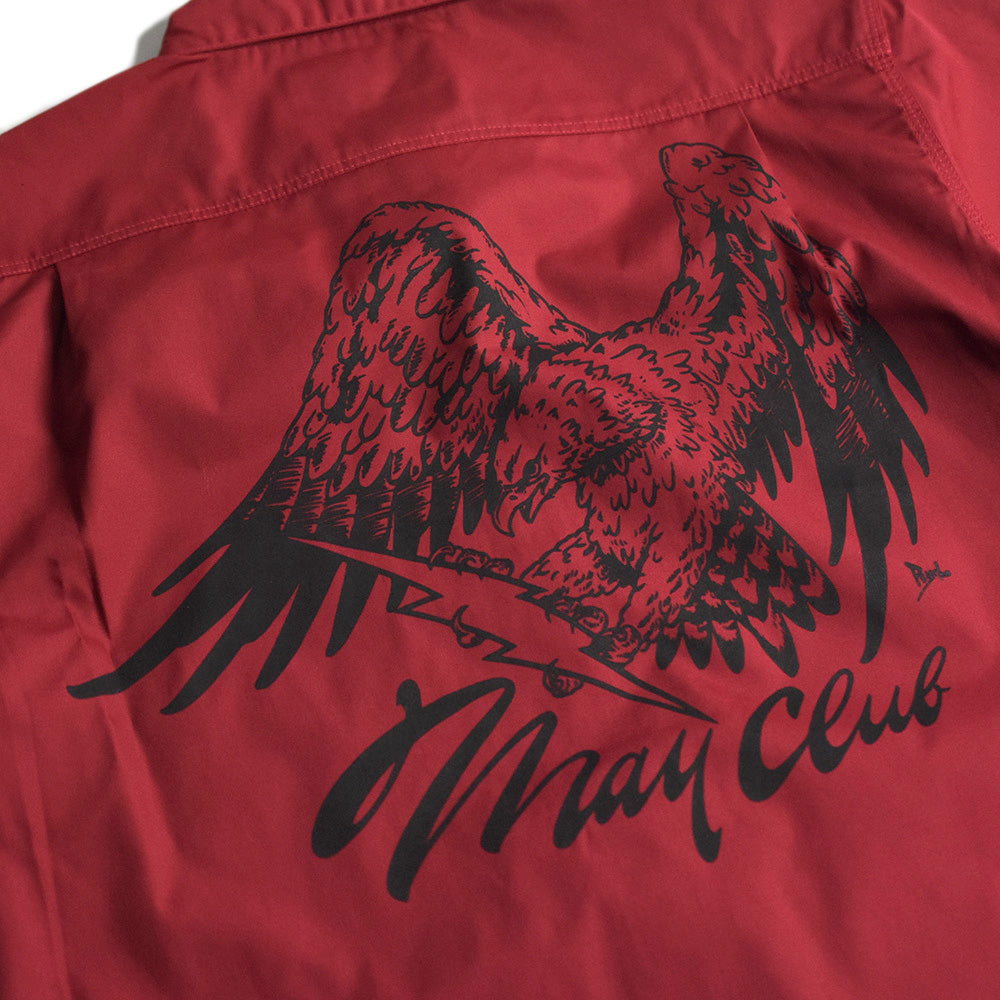 May club -【May club】MAY CLUB x WEST RIDE x PSYCHO 7TH ANNIVERSARY SHIRTS - RED
