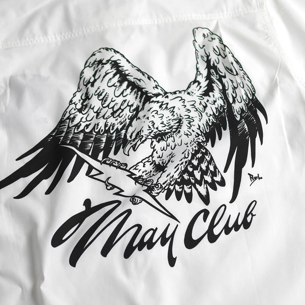 MAY CLUB x WEST RIDE x PSYCHO 7TH ANNIVERSARY SHIRTS - WHITE