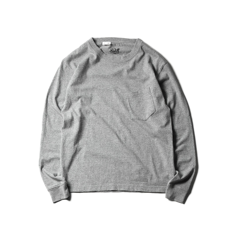 May club -【Addict Clothes】AD-CSLP-01 ACVM LONG SLEEVE TEE - LIGHT GREY