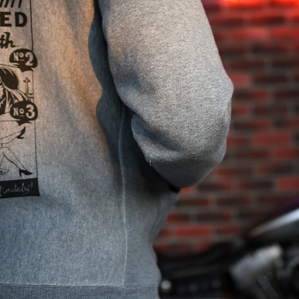 May club -【WESTRIDE】HEAVY WEIGHT STAND FULL ZIP